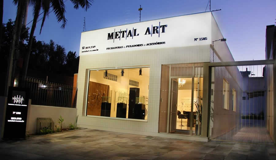 Fachada Metal Art