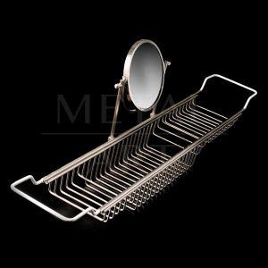 Porta Objetos Grande com Espelho para Banheira 11701