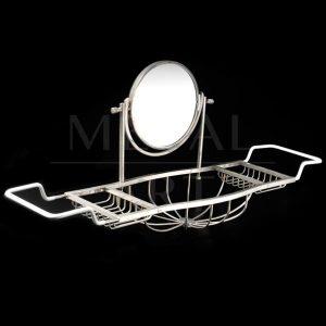 Porta Objetos com Espelho para Banheira 11699