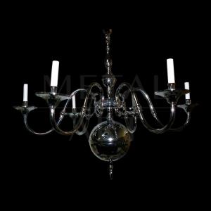 Luminária de Teto Clássica 6 Lâmpadas